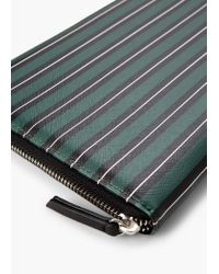 Mango - Green Saffiano-effect Tablet Case - Lyst