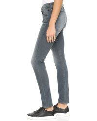 Rag & Bone - Gray The Dre Slim Bf Jeans - Lyst