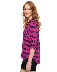 Splendid | Pink Gallery Shirting | Lyst