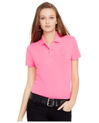 Polo Ralph Lauren | Pink Pony Polo Shirt | Lyst
