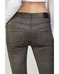 True Religion | Gray Joan Smalls Womens Legging | Lyst
