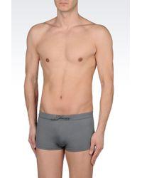 Emporio Armani | Gray Swimsuit for Men | Lyst