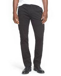 Polo Ralph Lauren - Black Slim Fit Military Pants for Men - Lyst