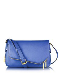 Henri Bendel | Blue Debutante Messenger Bag | Lyst