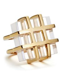 Marc By Marc Jacobs - Metallic Kandi Gems Cage Ring - Lyst