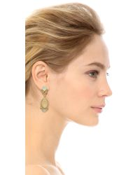 Adia Kibur | Blue Isabelle Earrings - Neutral Multi | Lyst