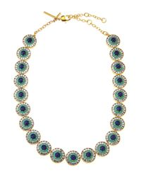 Lele Sadoughi | Metallic Sundial Necklace | Lyst