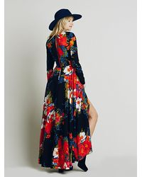Free People   Multicolor First Kiss Dress   Lyst