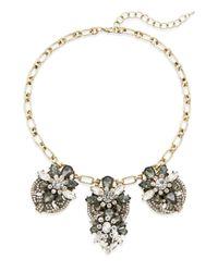 Saks Fifth Avenue | Metallic Jewel Drop Cluster Collar Necklace | Lyst