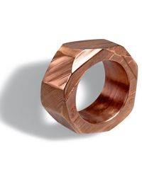 Linnie Mclarty - Pink Monsta Ring Rose Gold for Men - Lyst