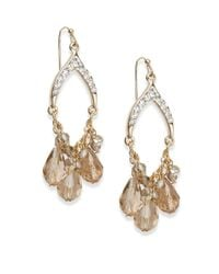 Saks Fifth Avenue | Metallic Dangling Sparkle Earrings | Lyst