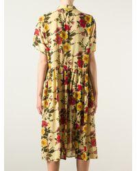 Jean Paul Gaultier - Multicolor Floral Junior Gaultier Dress - Lyst