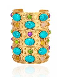 Sylvia Toledano | Multicolor Large Turquoise Byzance Cuff | Lyst