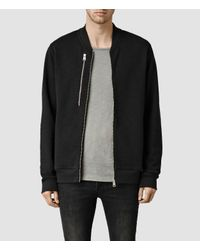 AllSaints | Black Franklin Bomber for Men | Lyst