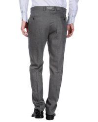 Lagerfeld - Gray Casual Trouser for Men - Lyst