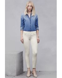 J Brand - White 9227 Low-rise Super Skinny - Lyst