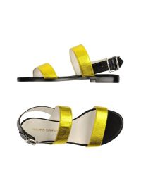 Mauro Grifoni | Yellow Sandals | Lyst