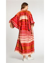 Temperley London - Red Long Shore Kimono - Lyst