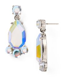 kate spade new york - Multicolor Iridescent Day Tripper Bauble Earrings - Lyst