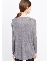 Vince | Blue Long Sleeve V-neck Sweater | Lyst