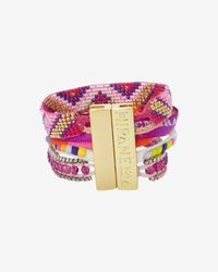 Hipanema - Fluo Bracelet Purple - Lyst
