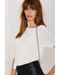 Nasty Gal | Metallic Jakimac Whisper Studded Leather Harness | Lyst