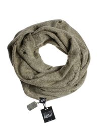 William Rast | Brown Distressed Infinity Scarf for Men | Lyst