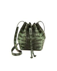 Rachael Ruddick | Green Beach Bucket Bag - Mint | Lyst