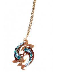 Matthew Williamson | Blue Pisces Pendant Necklace | Lyst
