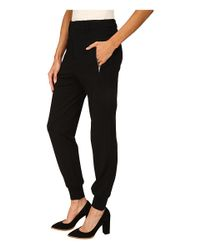 McQ - Black Tailored Sweatpants - Lyst