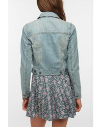 Urban Outfitters - Blue Bdg Classic Denim Trucker Jacket - Lyst