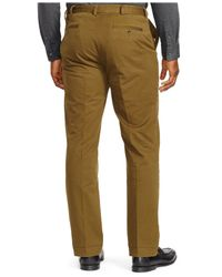 Polo Ralph Lauren | Green Big And Tall Classic-fit Stretch Chino Pant for Men | Lyst