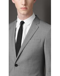 Burberry | Gray Modern Fit Virgin Wool Suit for Men | Lyst