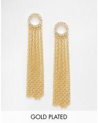 Gorjana | Metallic Shimmer Tassel Earrings | Lyst