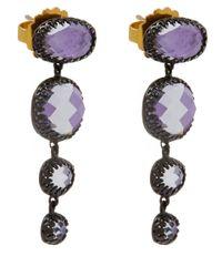 Larkspur & Hawk | Small Purple Tessa Topaz Earrings | Lyst