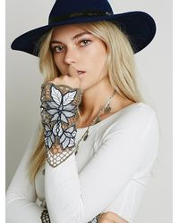 Free People | White Bali Babe Cuff | Lyst