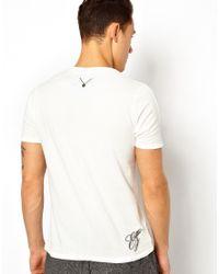 Elvis Jesus | White Tshirt Ocean for Men | Lyst