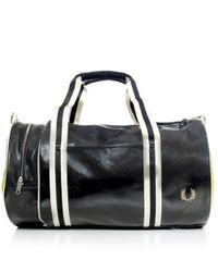Stussy | Black Classic Barrel Bag for Men | Lyst