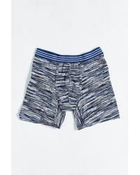 Urban Outfitters - Blue Spacedye Boxer Brief for Men - Lyst