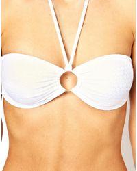 Melissa Odabash - White Vegas Bikini Set - Lyst