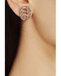 Venyx   Metallic 'tortuga' Earrings   Lyst