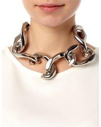 Annelise Michelson | Metallic Silver Unchained Neckpiece | Lyst