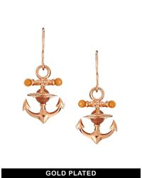 Vivienne Westwood - Metallic Ceto Orb Drop Earrings - Lyst