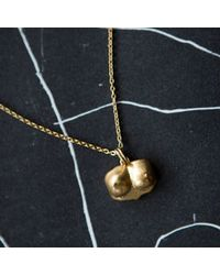 Kelly Wearstler | Metallic Bust Pendant Necklace | Lyst