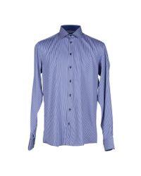 Sand - Blue Shirt for Men - Lyst