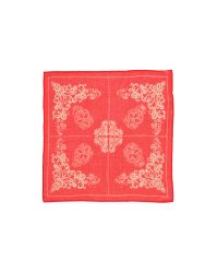 Chan Luu - Red Handkerchief Scarf - Black/white - Lyst
