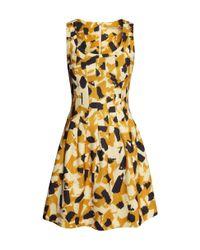 H&M - Yellow Sleeveless Dress - Lyst