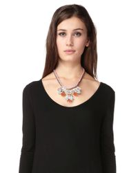 Pieces | Multicolor Necklace / Longcollar | Lyst