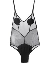 Minimale Animale - Black The Seashore Dark Seas Swimsuit - Lyst
