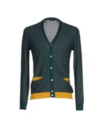 Zanone | Green Cardigan for Men | Lyst